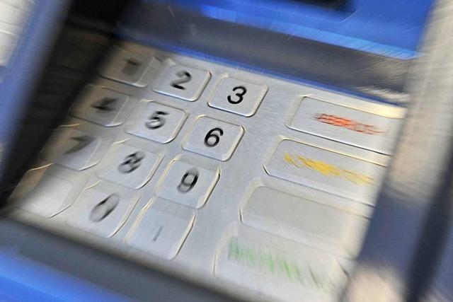 Unbekannte sprengen in Freiburg einen Geldautomaten – ohne Erfolg