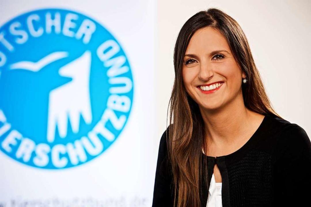 Lea Schmitz vom Tierschutzbund  | Foto: Benedikt Frings-Ness