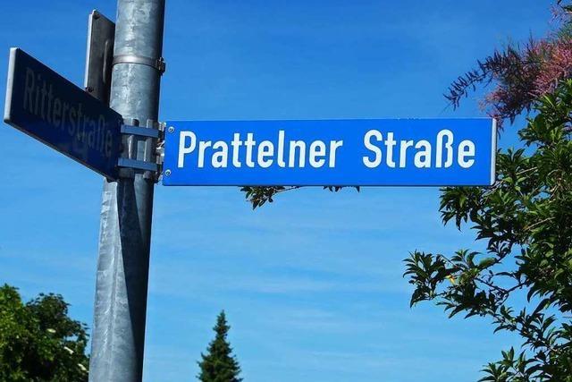 Wie aus der Pratteler Straße in Rheinfelden fälschlicherweise die Prattelner Straße wurde