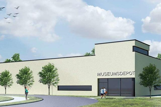 So wird das Museumsdepot in Lörrach aussehen