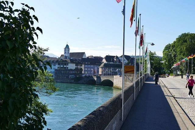 Rheinfelden (CH) befürchtet einen Rückgang bei den Übernachtungen