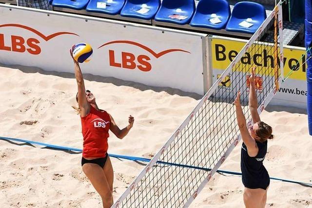 Spitzensport beim Beachvolleyball-Cup in Offenburg
