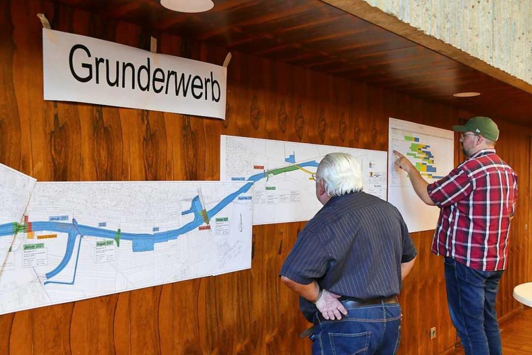 Infoveranstaltung Ortsumfahrung Wyhlen    Foto: Verena Pichler