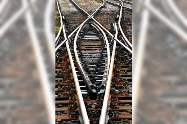 Laute Gleisarbeiten finden ab Samstag in Auggen statt