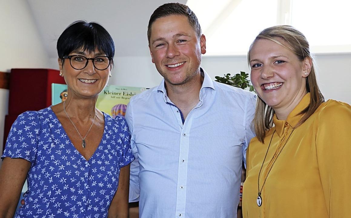 Nach 15 Jahren der Organisation gab Re...gen Matthias Mybes und Sandra Hettich.  | Foto: Martha Weishaar