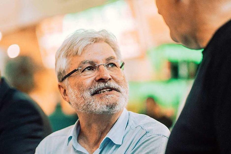 Thomas Hauser, der scheidende Herausgeber und langjährige Chefredakteur der Badischen Zeitung (Foto: Stefan Hipp)