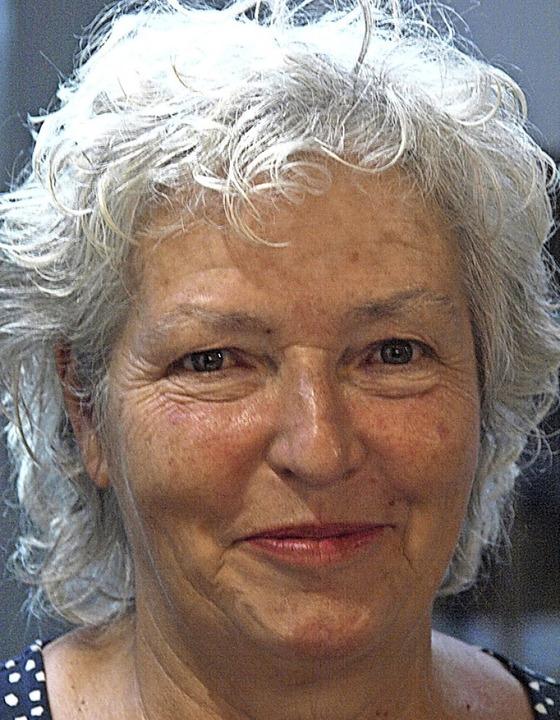 Iris Wallaschek freut sich über die Ab...precherin des Grünen-Ortsverbandes war  | Foto: Karin Stöckl-Steinebrunner