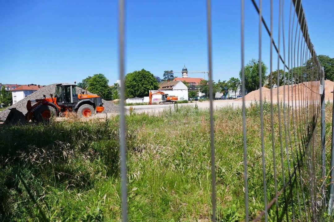 Seit mehr als einem Jahr ist der Baupl... Gewerbe der Oststadt nicht vorangeht.  | Foto: Ralf Burgmaier