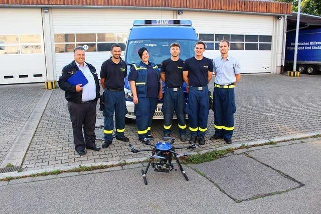 Bad Säckinger THW-Mitglieder sind in Ostdeutschland im Einsatz