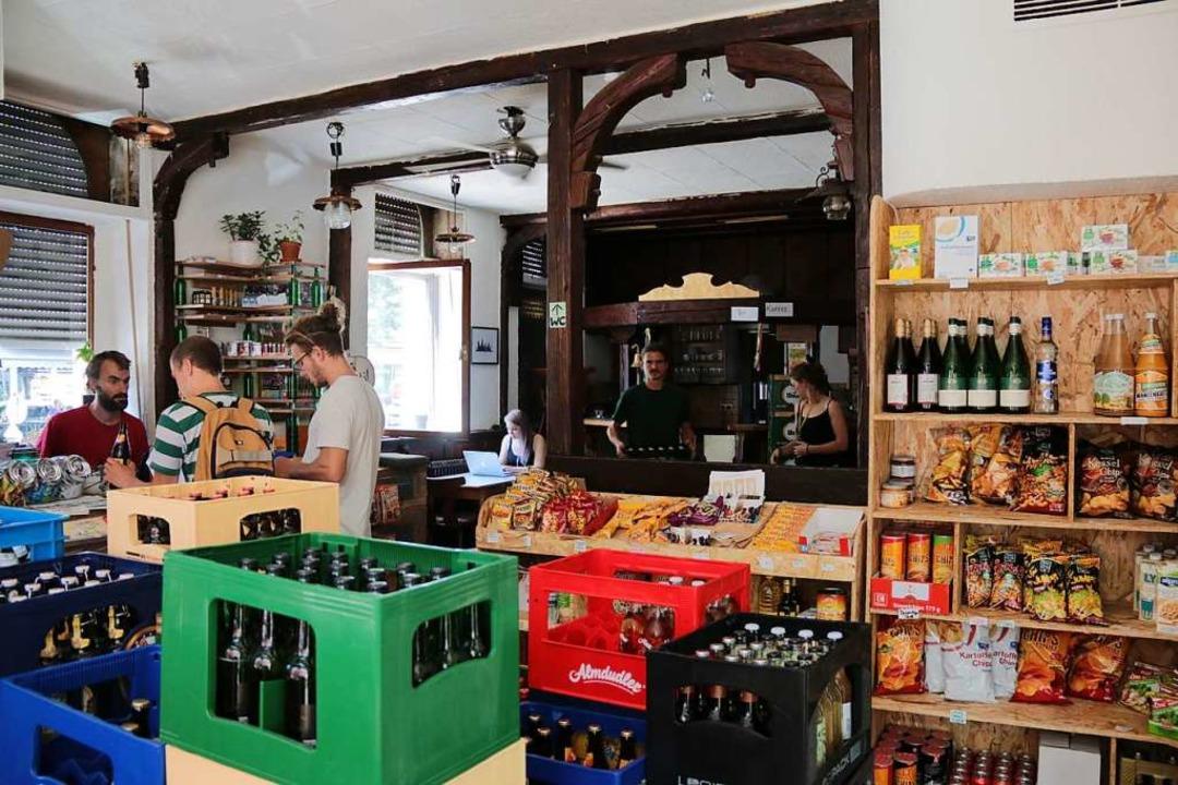 Der Spätkauf befindet sich in den Räumlichkeiten des ehemaligen Josephstüble  | Foto: Gina Kutkat