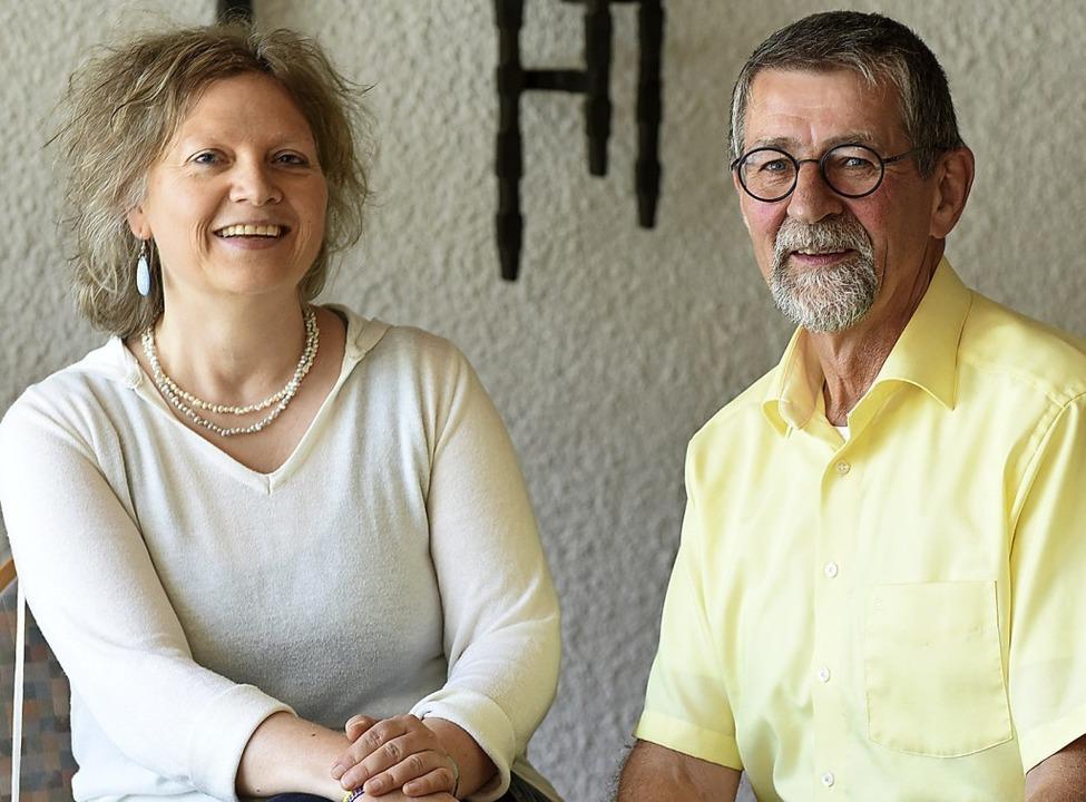 Angelika Büchelin und Markus Binder  | Foto: Rita Eggstein