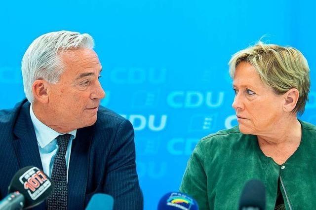 Der Machtwechsel in der Südwest-CDU hat begonnen