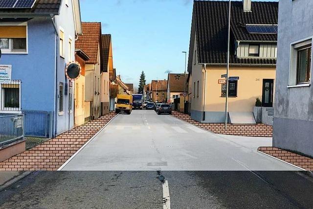 Karl-Friedrich-Straße in Rust soll enger und damit sicherer werden