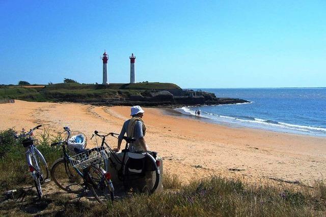 Unterwegs auf dem neuen Fernradweg von Südwest-Frankreich zum Atlantik
