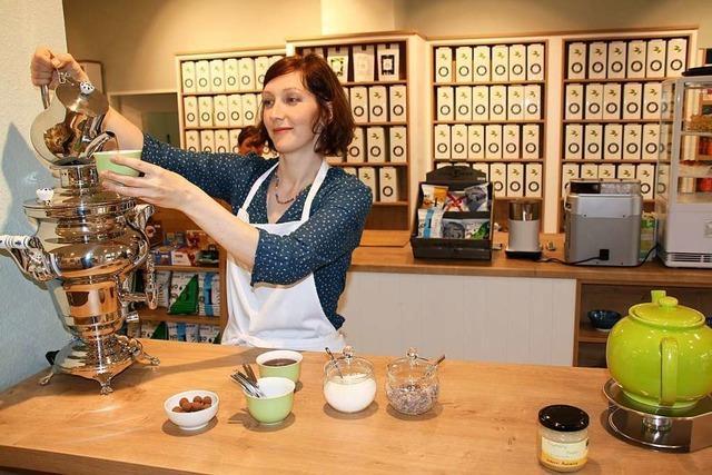 Tee & Tasse: Neuer Teeladen in Kirchzarten