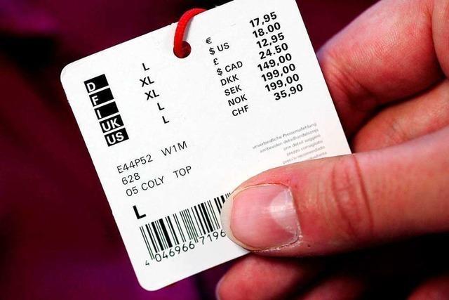 36-Jährige tauscht im Rheincenter die Etiketten und fliegt an der Kasse auf