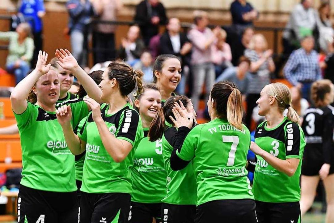 Landesligavizemeisterschaft, Bezirkspo.... Nun trifft man auf die HSG Dreiland.  | Foto: Achim Keller