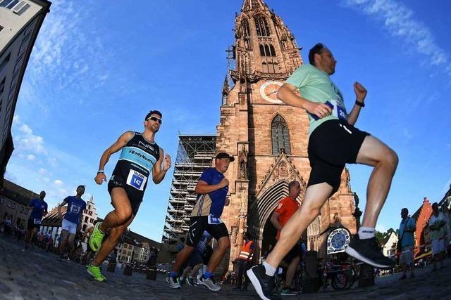 Rund 2000 Teilnehmer bei der 16. Freiburger Laufnacht