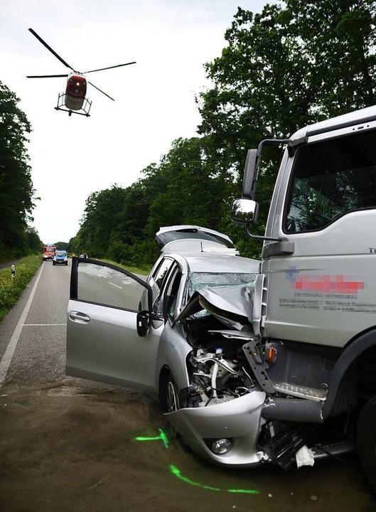 Anfang Juni ereignete sich ein tödlicher Unfall bei Gundelfingen.   | Foto: Patrick Seeger/DS