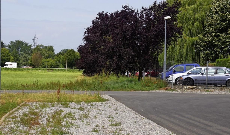 Auf dem Park & Ride-Platz sollen 55 Wohnmobilstellplätze entstehen.   | Foto: Ilona Huege