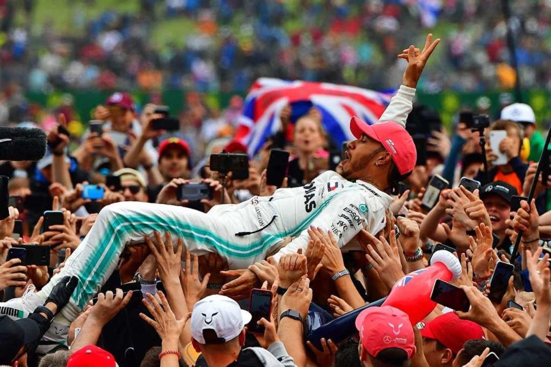 Sieger Lewis Hamilton  | Foto: ANDREJ ISAKOVIC (AFP)