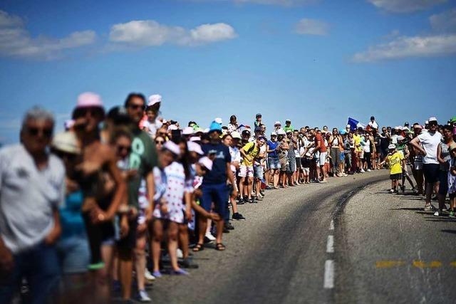 Nach der Party bei der Tour de France bleiben die Müllberge