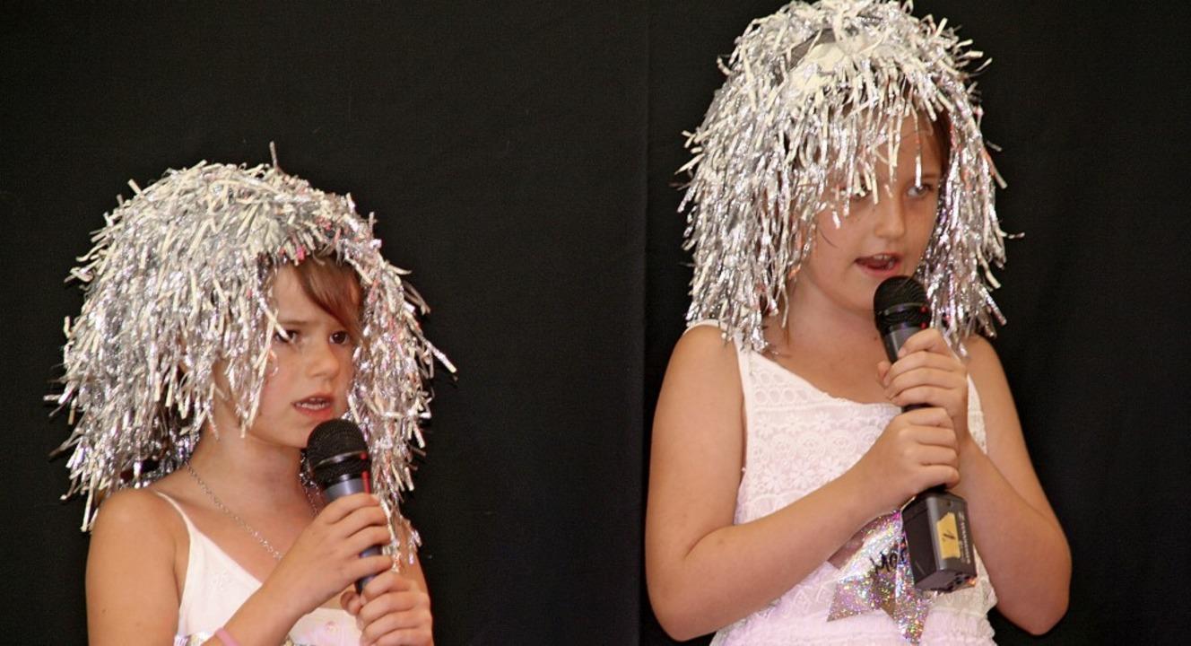 Die Jüngsten suchten ihren Superstar beim Rüßwihler Doffestt.  | Foto: Peter Schütz