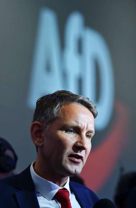 Björn Höcke  | Foto: CHRISTOF STACHE (AFP)