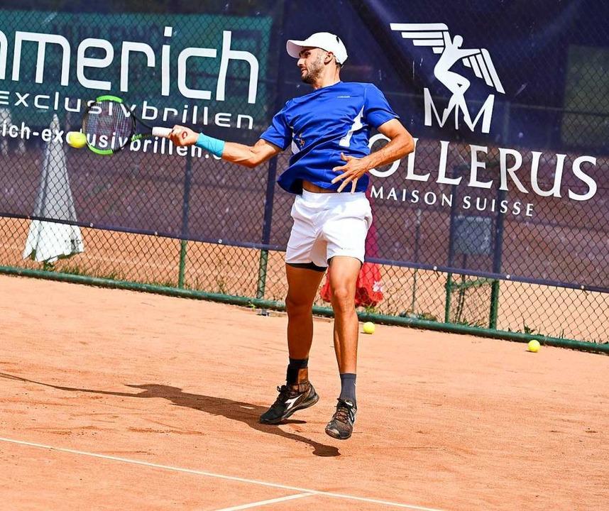 Paul Wörner unterlag an Position zwei im Match-Tiebreak.  | Foto: Wolfram Köhli