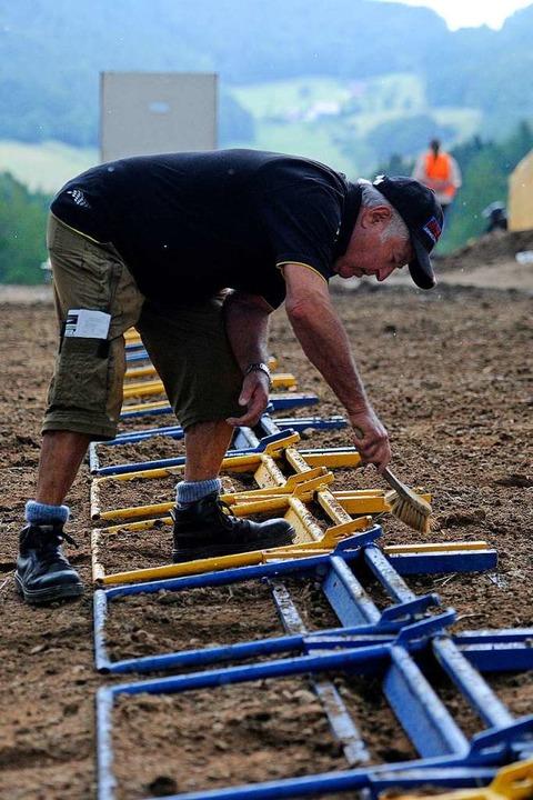Sauberkeit ist bei der Mechanik der Startmaschine oberstes Gebot.  | Foto: Pressebüro Schaller