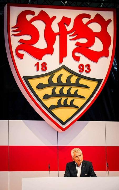 Wolfgang Dietrich ist nicht länger VfB-Präsident.  | Foto: Christoph Schmidt (dpa)