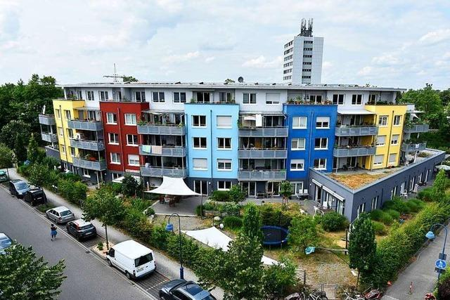 Wie sich der Freiburger Stadtteil Vauban in 20 Jahren verändert hat