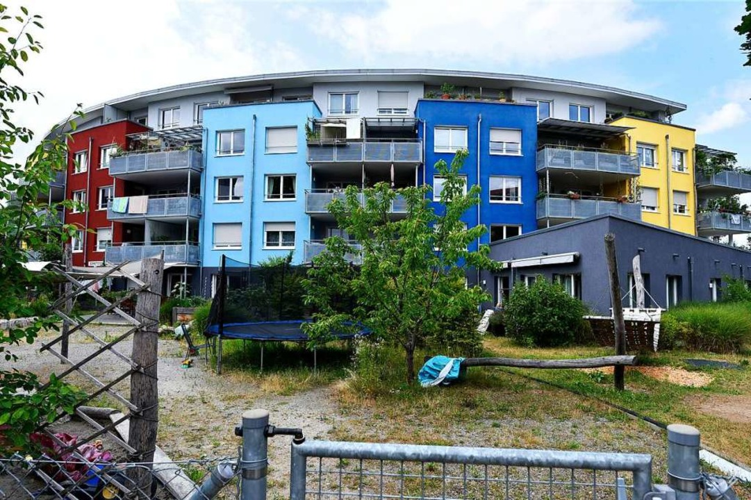 In der Vaubanaise wohnen Menschen mit ...ehinderung und Menschen ohne zusammen.  | Foto: Thomas Kunz