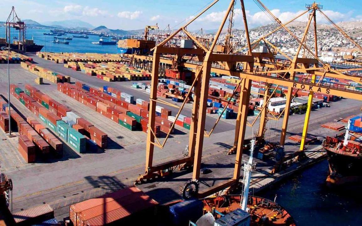 Der Hafen von Piräus soll ausgebaut werden.  | Foto: epa ANA Giorgos Christakis