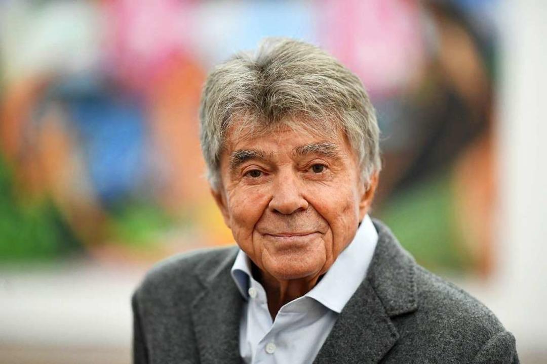 Der Kunstsammler Frieder Burda, aufgen...b am 14.7.2019 im Alter von 83 Jahren.  | Foto: Uli Deck (dpa)