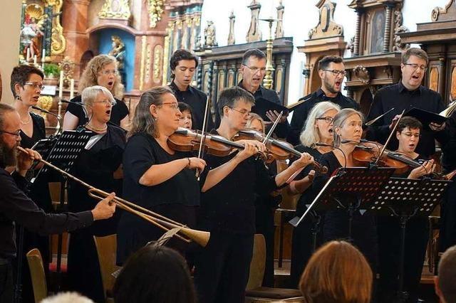 Das Vocalconsort Bad Säckingen zeigt die Größe von Bachs Kantaten