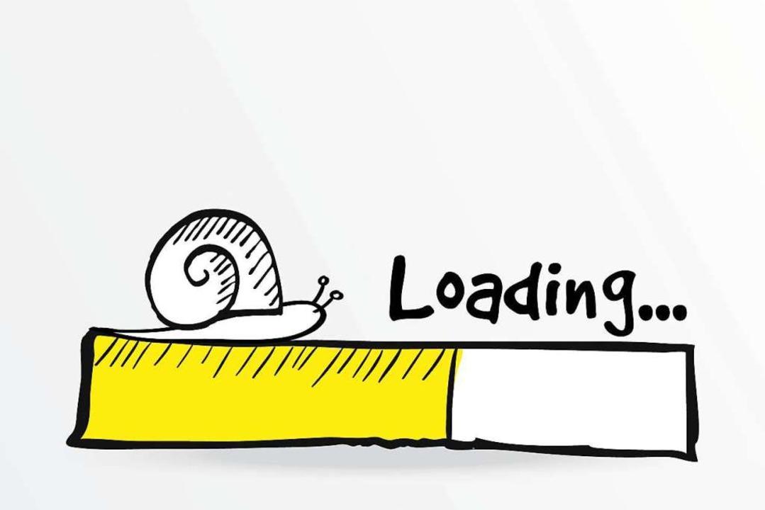 Wenn der Download wieder etwas länger dauert.    Foto: tabitazn / stock.adobe.com
