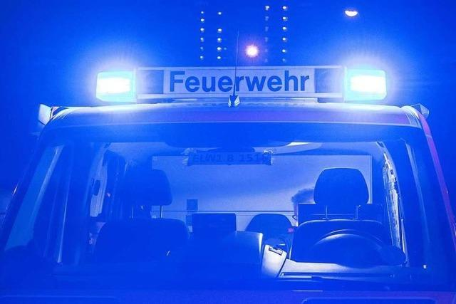 Hütte in Klettgau brennt ab und hinterlässt 30 000 Euro Schaden