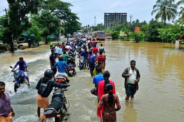 Mehr als 150 Menschen sterben bei Monsunregen in Südasien