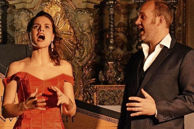 Noemi Schellens (Sopran) und Kobe Baeyens (Bariton) gestalten Liederabend in Görwihl