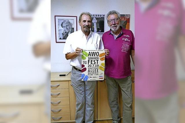 Die AWO feiert ein großes Sommerfest