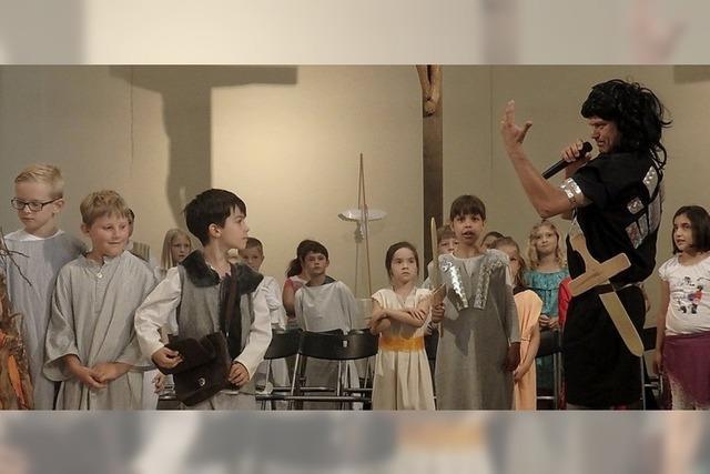 Bibelgeschichte mit fetzigen Songs und Musik mit Herz