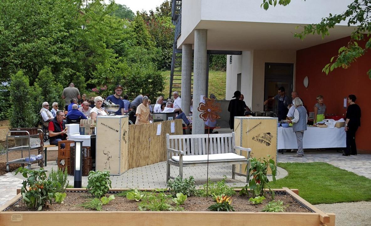 Mit einem Fest wurde am Sonntag der li...iorenzentrums St. Fridolin eingeweiht.  | Foto: Thomas Loisl Mink