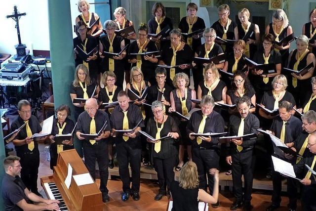 Sommerkonzert des Vörstetter Gesangvereins Chorios in der Evangelischen Kirche