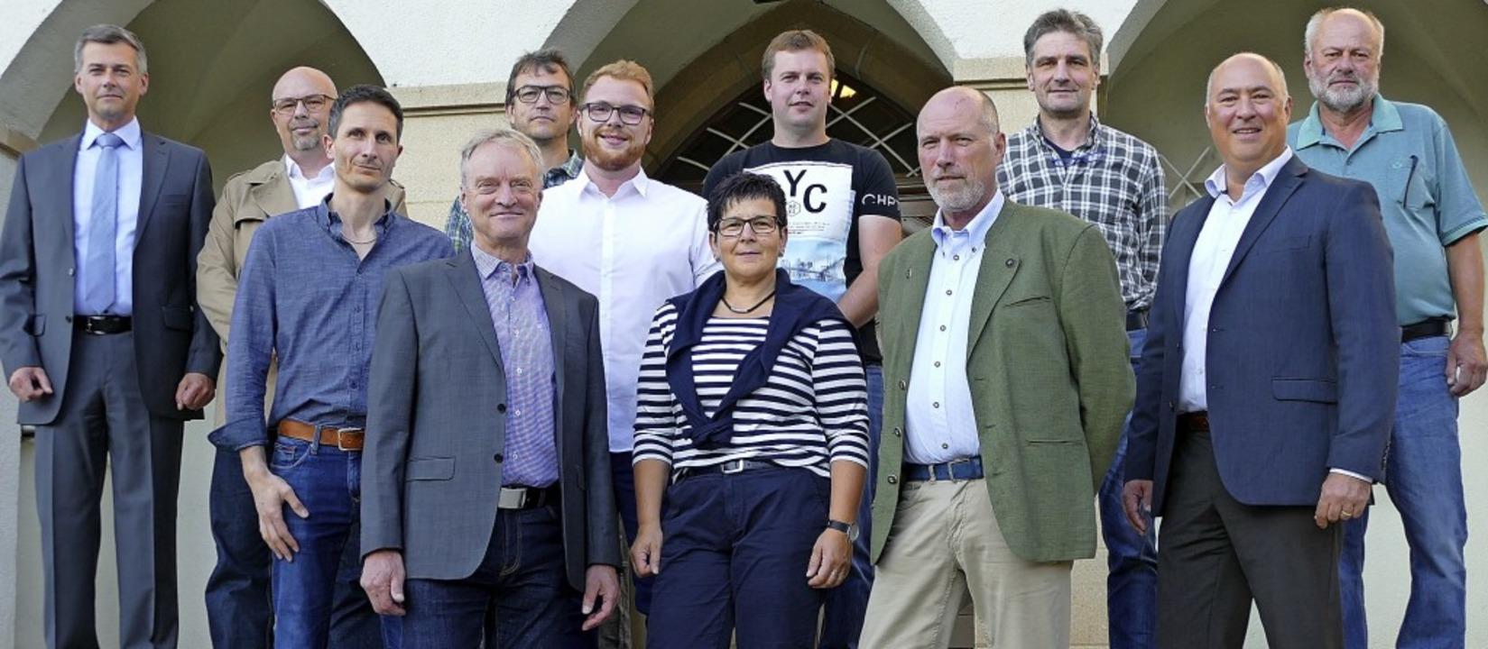 Die Mitglieder des neuen Wutacher Geme...olfgang Dornfeld und  Erhard Graunke.     Foto: Juliane Kühnemund