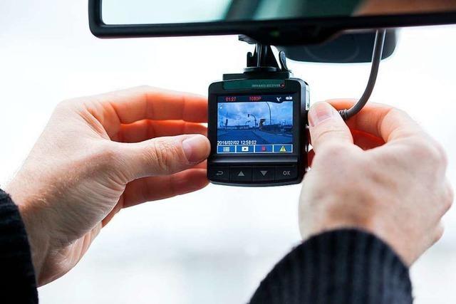 Verkehrspolizisten im Südwesten künftig mit Dashcams unterwegs