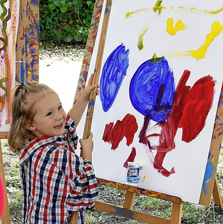 Intuitives Malen für Kinder  | Foto: Heidi Fößel