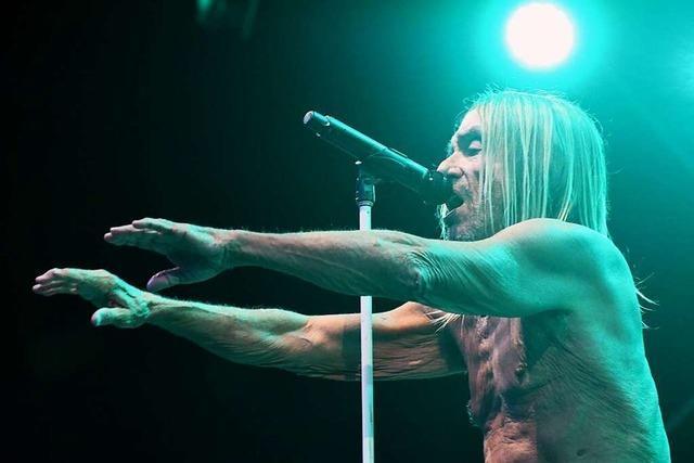 Entblößt und echt: Iggy Pop beim Stimmen-Festival in Lörrach