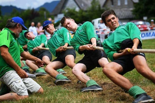 Was im Tauziehen eine erfolgreiche Mannschaft ausmacht