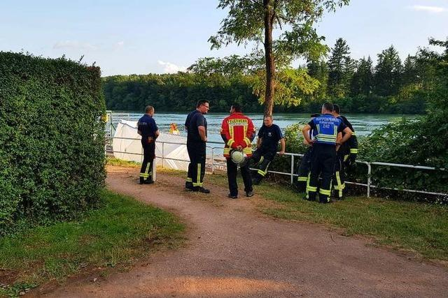 Retter bergen zwei Leichen aus dem Rhein – bei Wehr und Jestetten